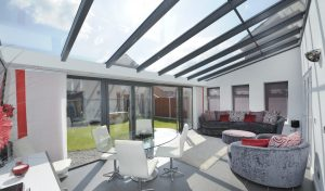 uPVC lean to conservatory interior view