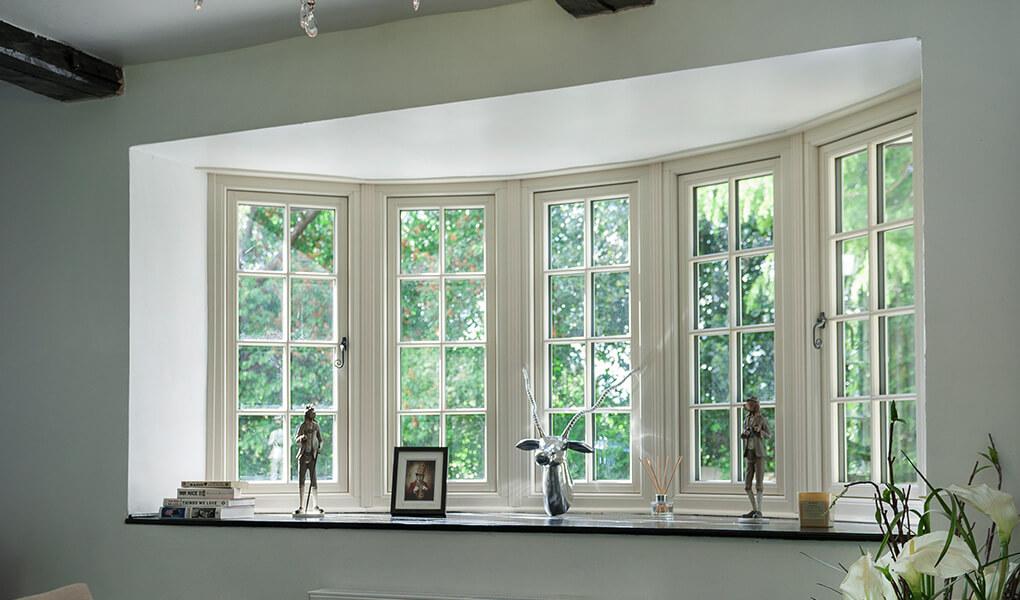 Residence 9 window with triple glazing