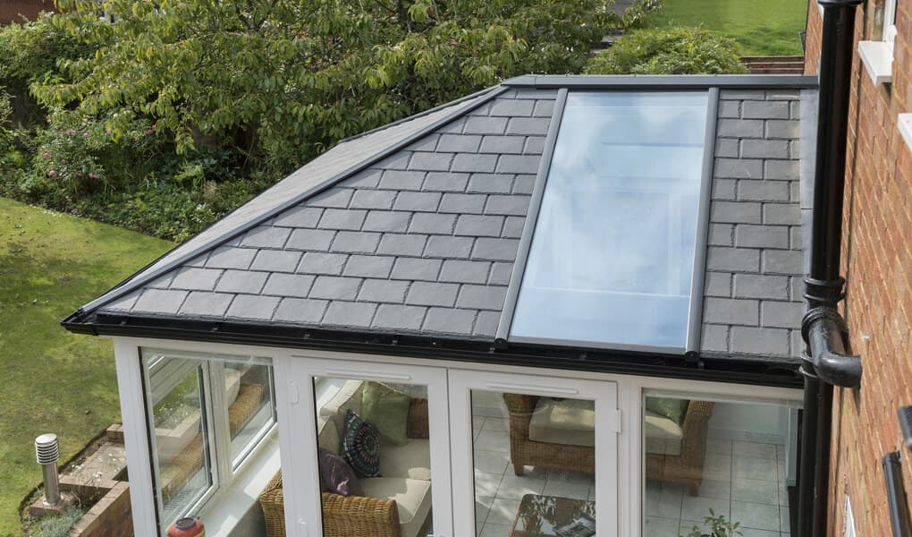 Ultraroof tiled roof