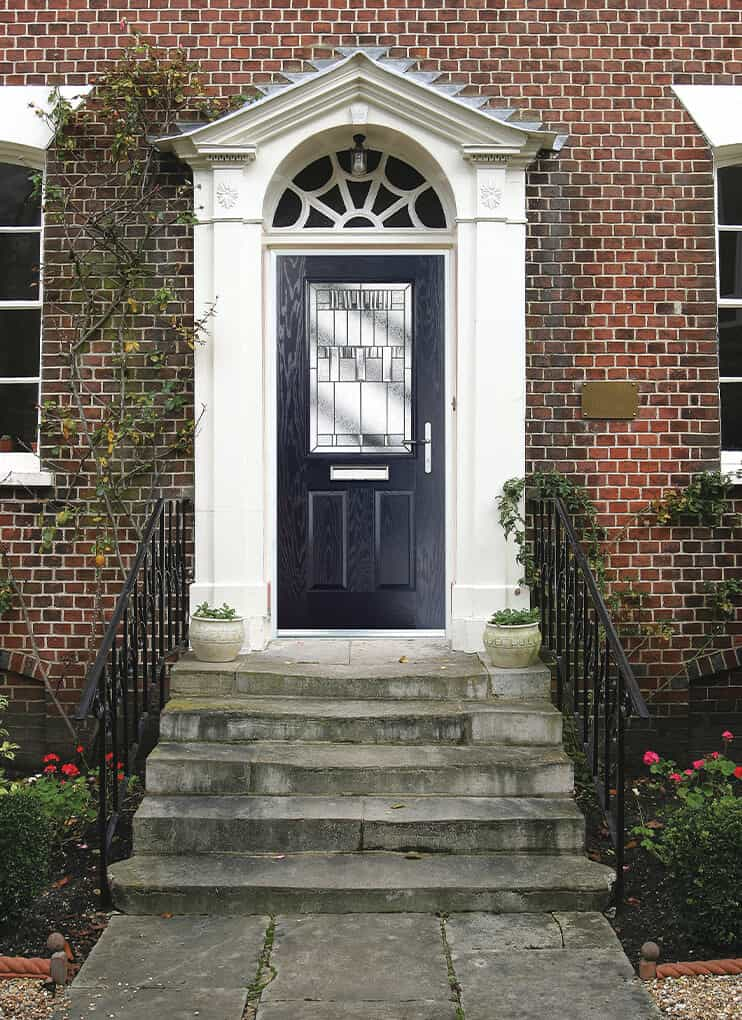 Doorco anthracite grey composite door