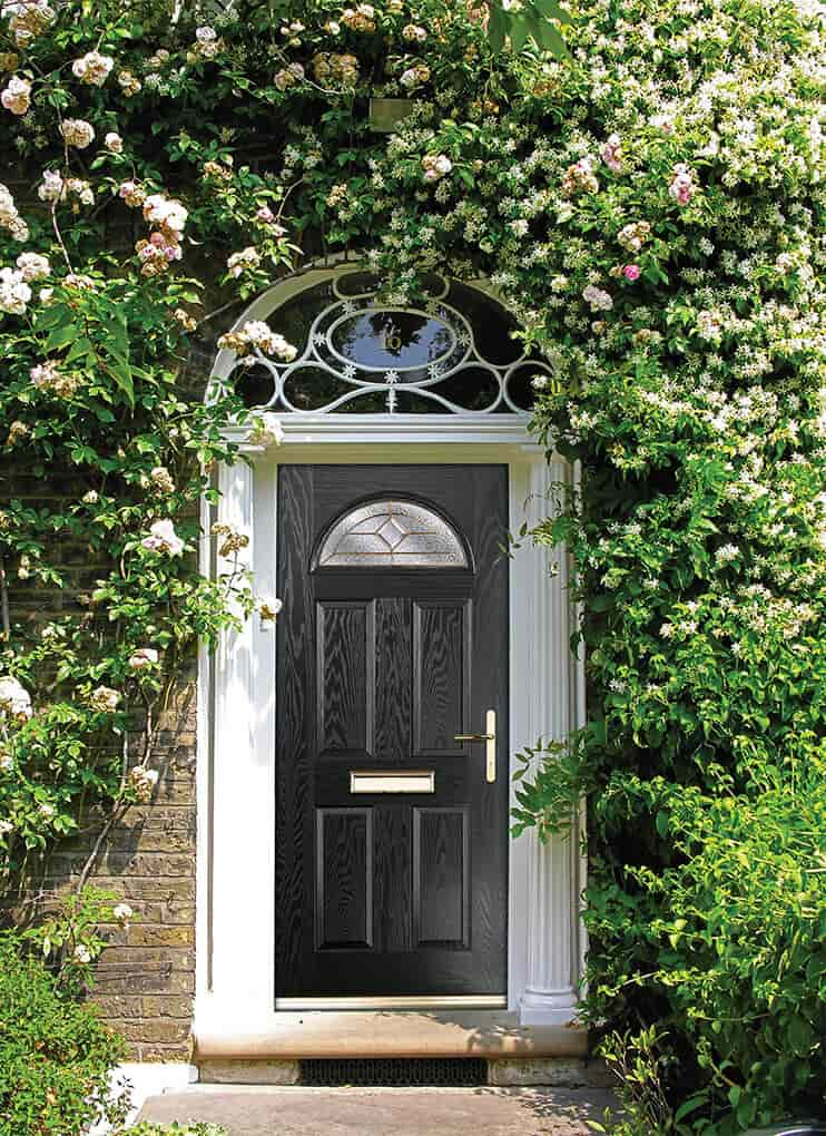 Doorco black composite door